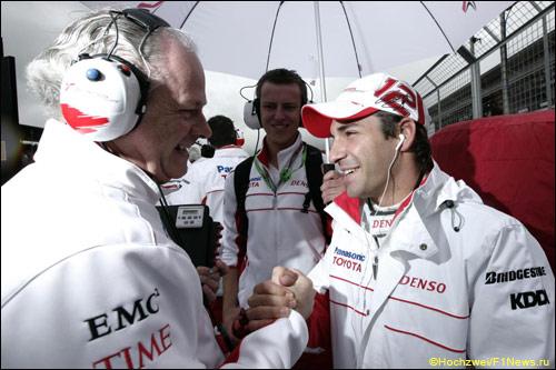 Ричард Креган и Тимо Глок, Гран При Великобритании, 2008 год