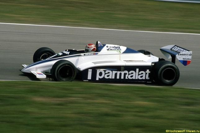 Нельсон Пике за рулем Brabham, Гран При Австрии 1982 года