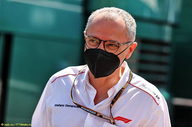 Стефано Доменикали, президент и исполнительный директор Формулы 1
