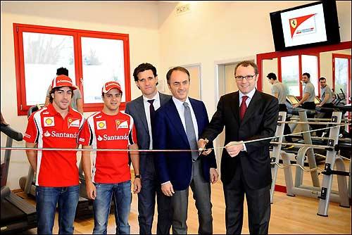 Открытие обновленного тренажерного зала во Фьорано