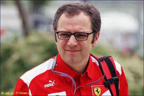 Руководитель Ferrari Стефано Доменикали