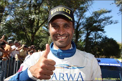 Нассер Аль Аттия, президент Автомобильной федерации Катара, 8 раз выигрывавший первенство Ближнего Востока по ралли