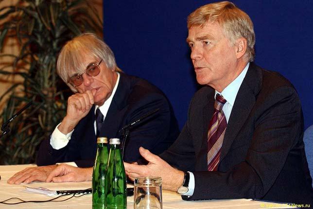 Берни Экклстоун и Макс Мосли, 2002 год
