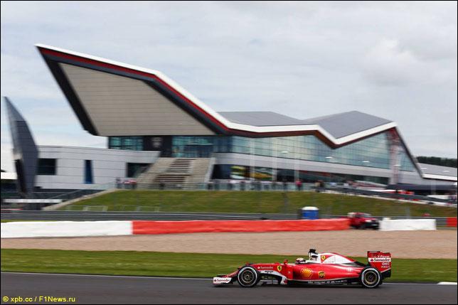 Кими Райкконен на прошлогоднем Гран При Великобритании