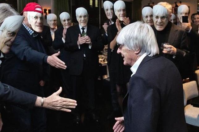 Гости встречают Берни Экклстоуна