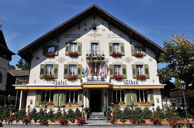 Отель Olden в швейцарском местечке Гштаад