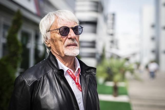 Берни Экклстоун на Гран При России, 2019 год, фото HochZwei