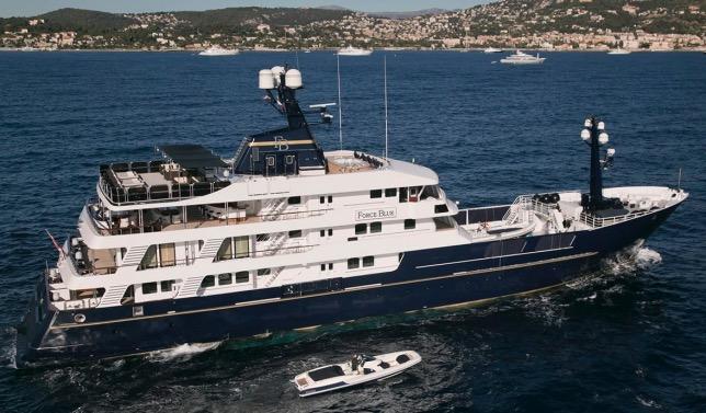 Яхта Force Blue