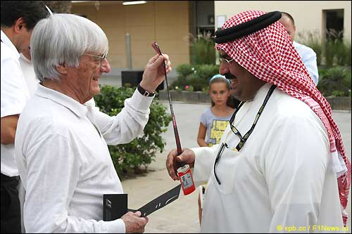 Берни Экклстоун в Бахрейне