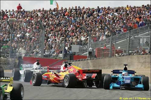 Эпизод гонки A1GP, прошедшей в Брэндс-Хетч 3 мая 2009 г.