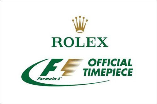 Компания Rolex – официальный хронометрист Формулы 1