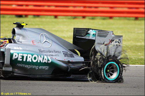 Льюис Хэмилтон на Гран При Великобритании