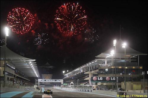 Ночная гонка в Абу-Даби