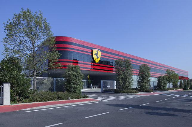 База Ferrari в Маранелло