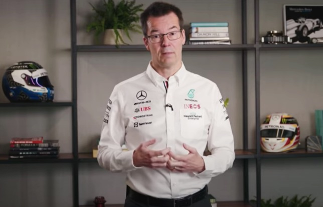 Майк Эллиотт, технологический директор Mercedees AMG F1