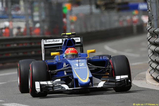 Фелипе Наср в Гран При Монако, 2015 год