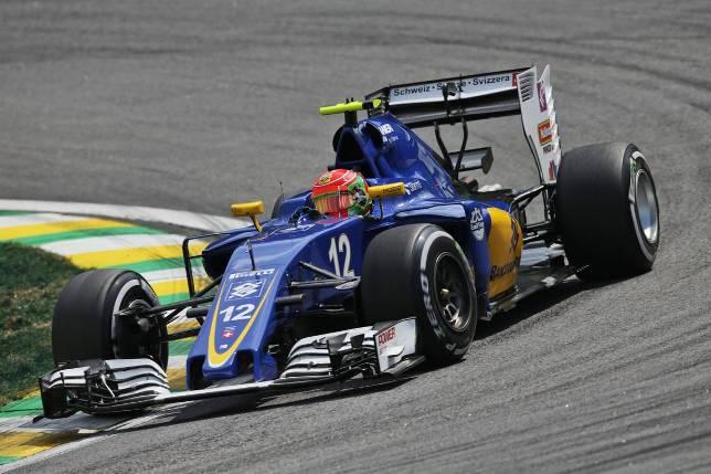 Гран При Бразилии. Фелипе Наср