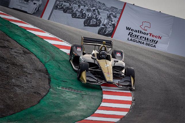 Эриксон: Ощущения за рулём машины IndyCar совсем другие