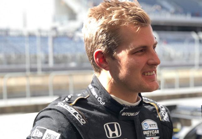 IndyCar: Маркус Эриксон хорошо начал тесты в Остине