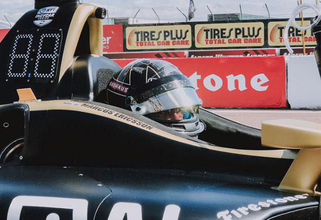 Эриксон: В IndyCar у меня есть шанс в каждой гонке