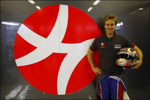 Давиде Вальсекки участвовал на молодёжных тестах Ф1 за HRT