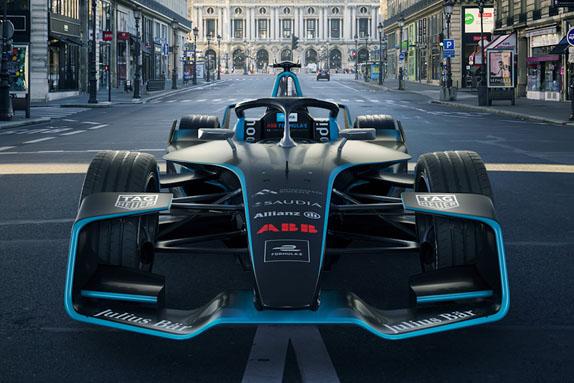 Видео: Представлена новая машина Формулы Е
