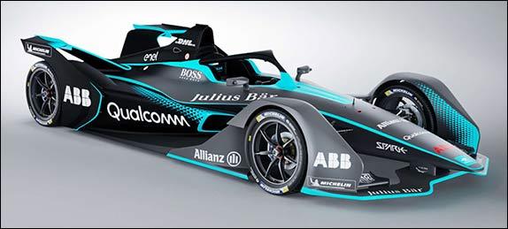 Новая машина Формулы Е