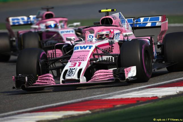 Гран При Китая. Гонщики Force India