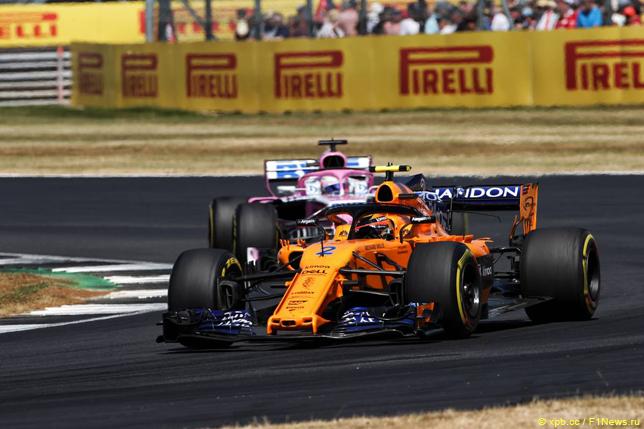 Гран При Великобритании. Стоффель Вандорн