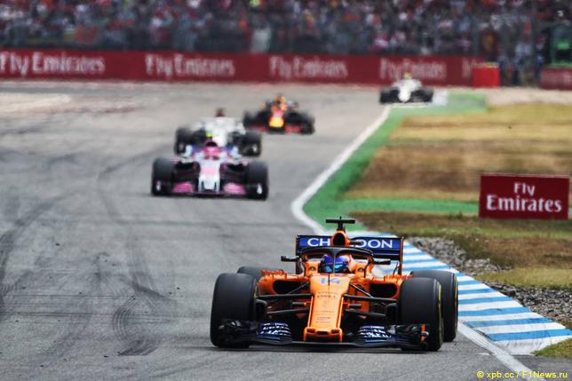 Гран При Германии. Фернандо Алонсо