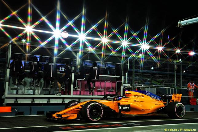 Гран При Сингапура. Фернандо Алонсо