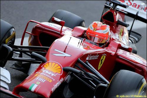 Передняя подвеска Ferrari F14 T