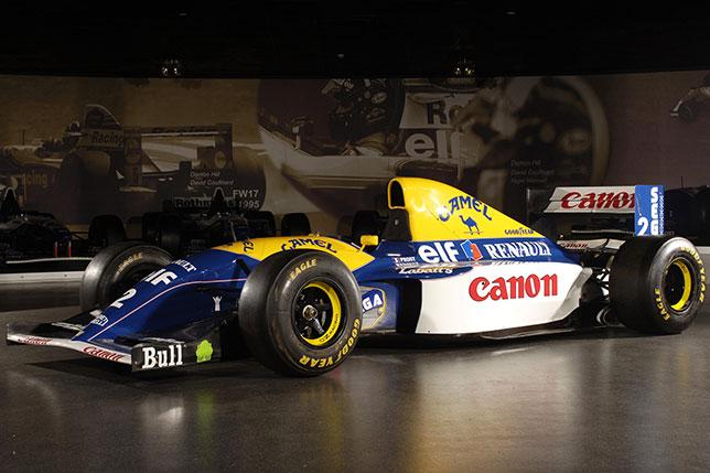 Последняя машина с активной подвеской, на которой был выигран чемпионат, была Williams FW15C