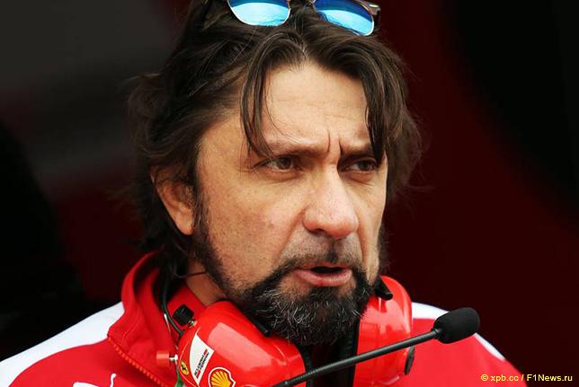 Альберто Антонини, руководитель пресс-службы команды Ferrari