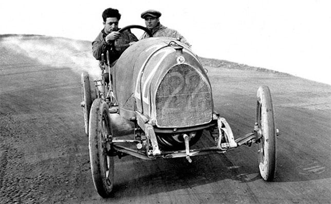 Энцо Феррари в годы своей гоночной карьеры