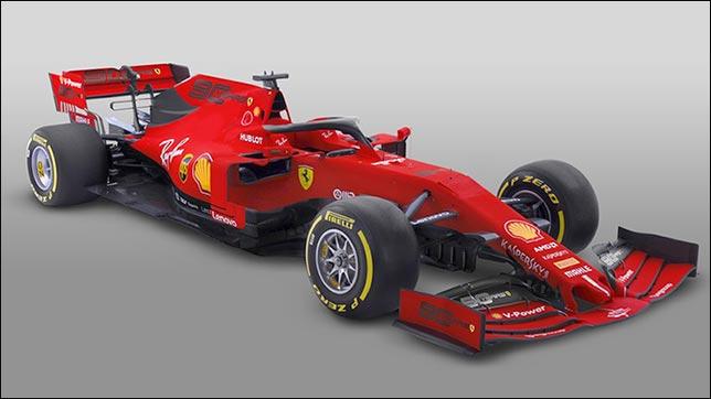 специальная раскраска машин Ferrari в мельбурне все