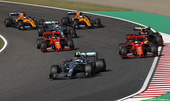Старт Гран При Японии
