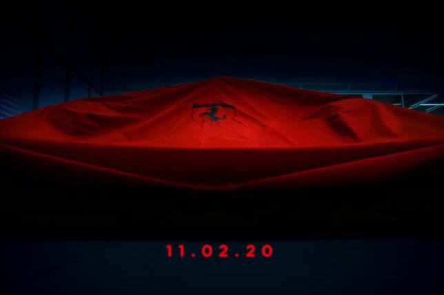 Дата презентации новой машины Ferrari
