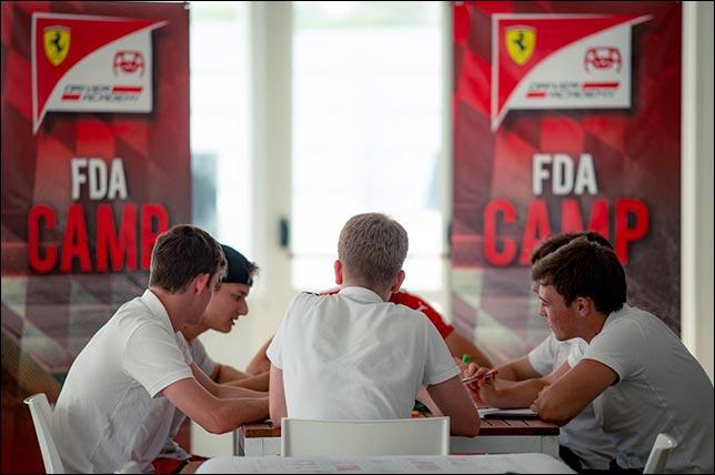 Слушатели Академии Ferrari