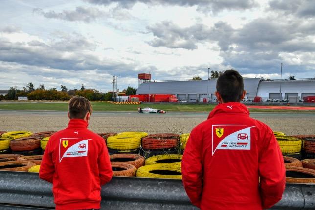 148460 - В Академии Ferrari завершились «приёмные экзамены»