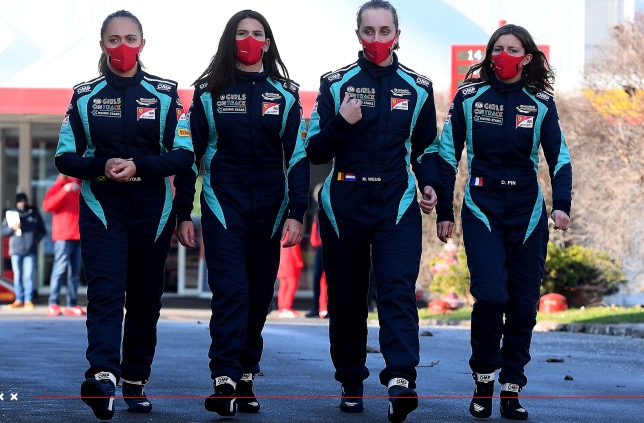Участницы программы Girls on Track в Маранелло