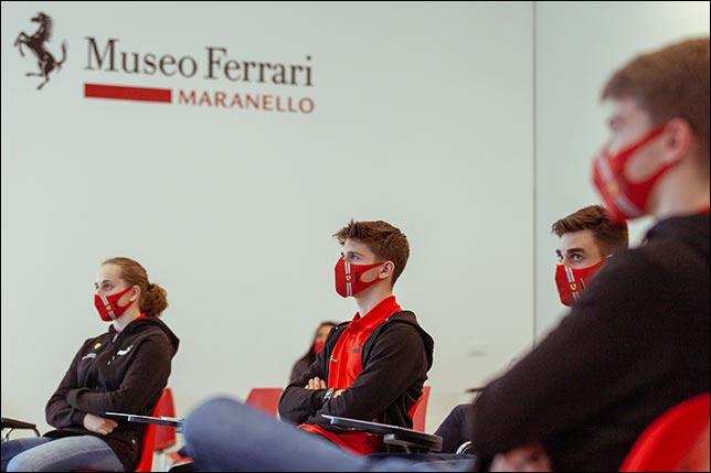 В Академии Ferrari начался новый сезон