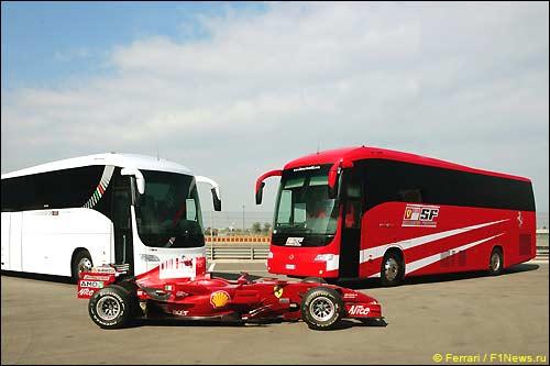 Новый моторхоум Ferrari