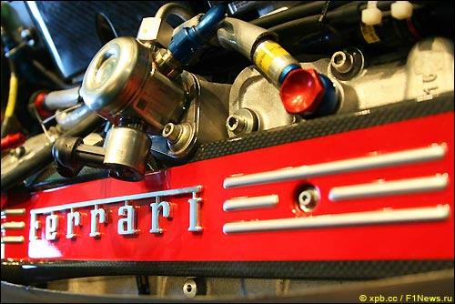 Мотор Ferrari