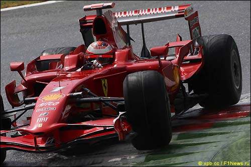 Монца'08.Ferrari. Кими Райкконен