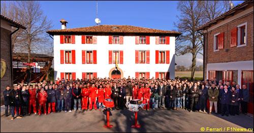 Сотрудники Ferrari