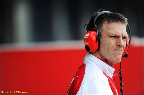 Технический директор Ferrari Джеймс Эллисон
