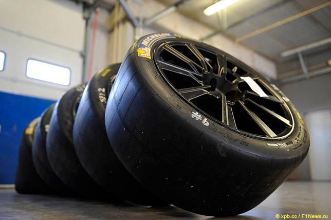 18-дюймовые шины Michelin