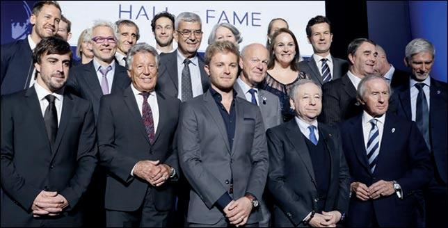 FIA открыла Зал славы, внего вошли все чемпионы Ф1