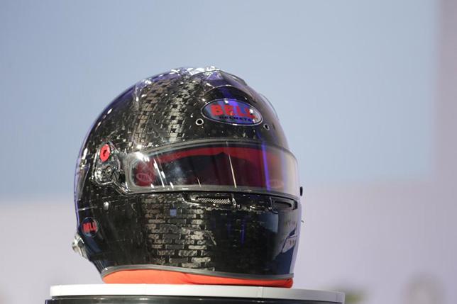Прототип шлема, созданного компанией Bell в соотвествии с новыми стандартом FIA